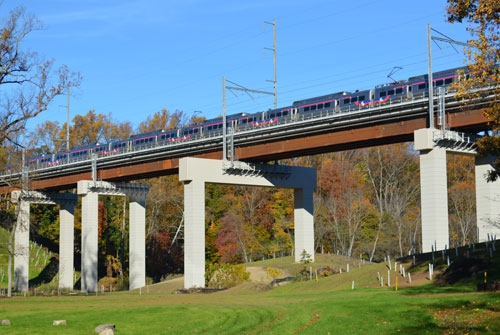 SEPTA Crum Creek Viaduct Replacement (2016)